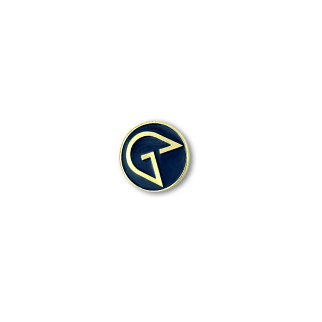 Reklamní smaltovaný špendlík s firemním logem, personalizovaný návrh, pro klienty, zakázková výroba odznaků do klopy, piny od producenta MCC Metal Casts