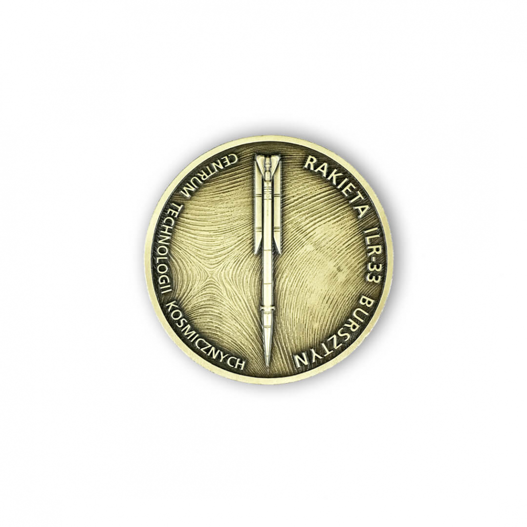 Pamětní mince pro CTK vyrobená společností MCC Metal Casts