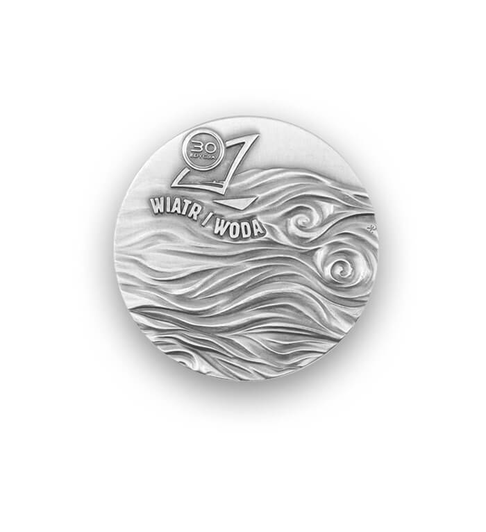 Sportovní medaile 3D vyrobená na zakázku producentem MCC Metal Casts